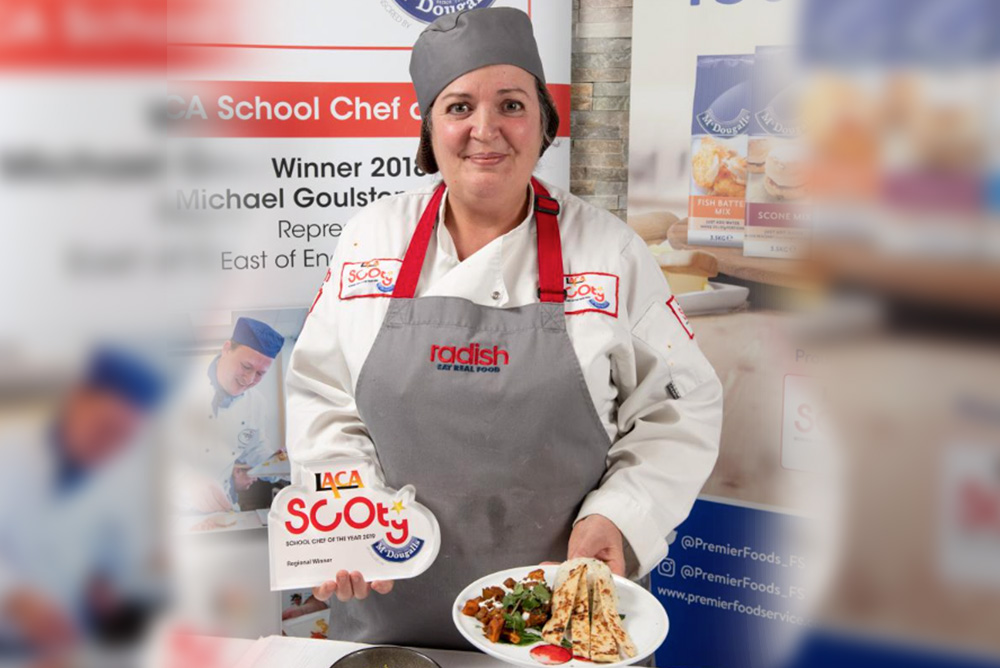 Radish reaches School Chef of the Year finals