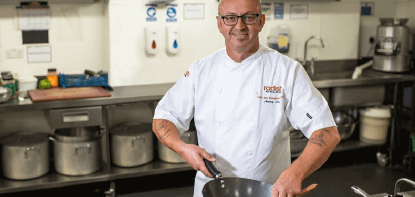 Our chef's skills will sizzle in street food challenge